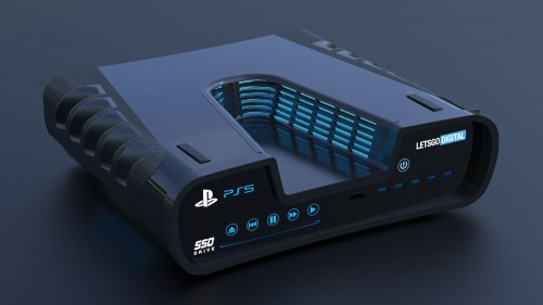 Playstation 5 konseptbilde
